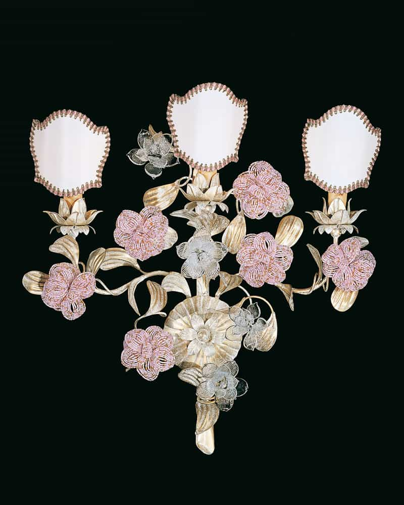 Applique classiche di lusso a muro, lampade da parete di ...
