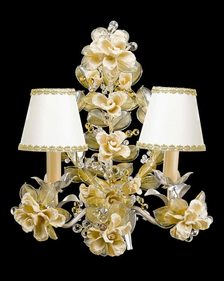 applique-lampade-parete-muro-design-classiche-lusso-vetro-murano-artigianali