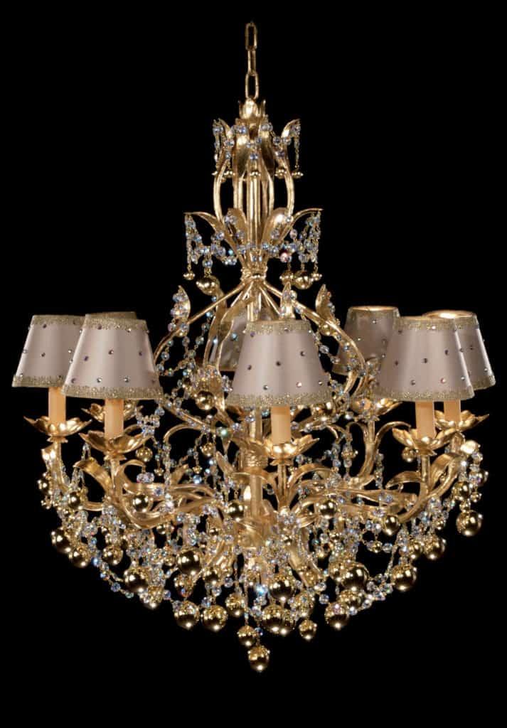 1-edizione-limitata-lampadari-lampade-di-lusso-chandelier-in-foglia-oro
