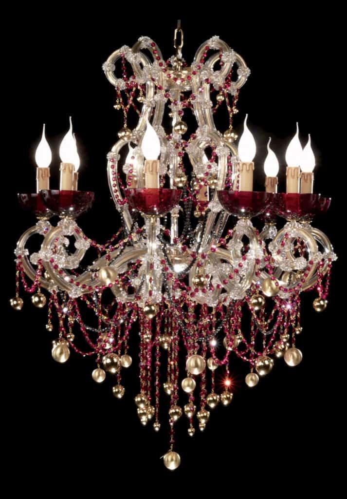 2-edizione-limitata-lampadari-lampade-di-lusso-chandelier-in-foglia-oro