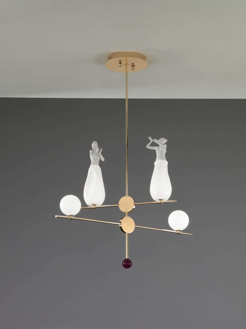 Lampadari di design moderno a sospensione dal soffitto per cucina salotto ed altre stanze for Lampadari cucina design