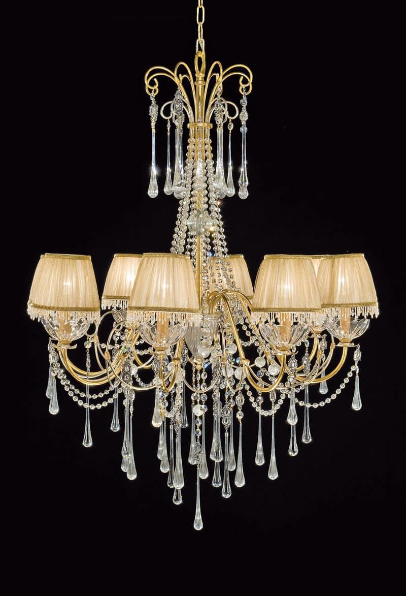 Lampadari Di Cristallo Classici.Lampadari In Cristallo Classici E Moderni Stile E Design Italiani