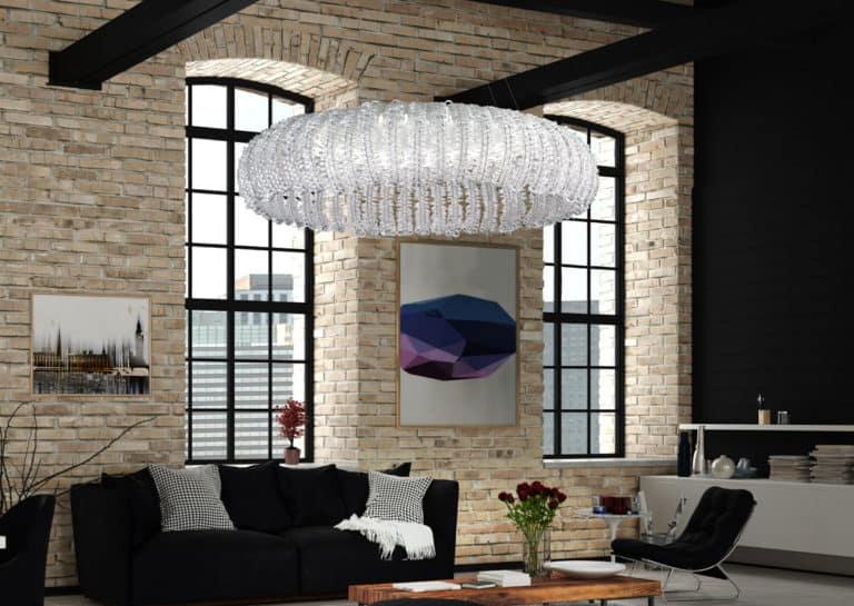 Lampadari di design moderno a sospensione dal soffitto per cucina