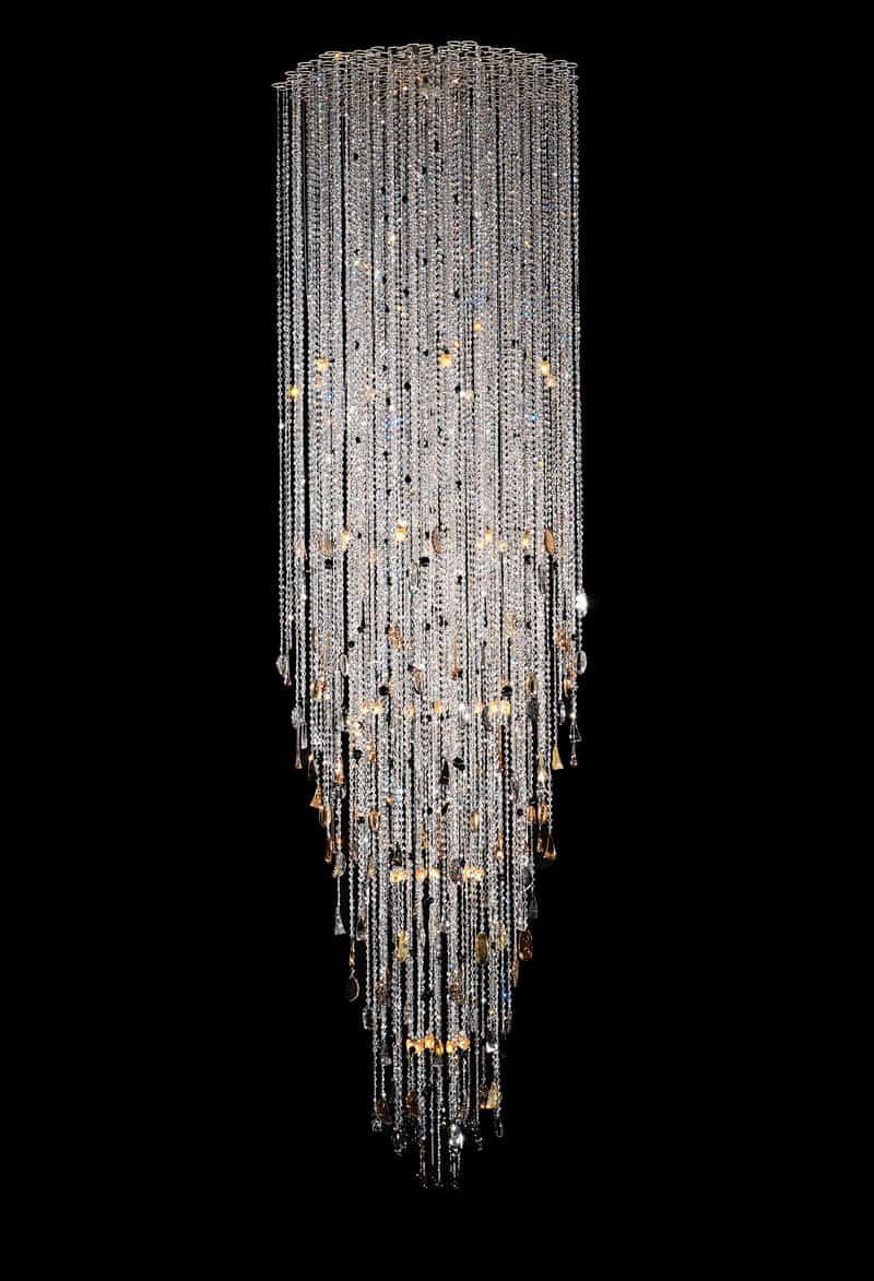 Lampadari A Gocce In Cristallo.Lampadari In Cristallo Classici E Moderni Stile E Design Italiani