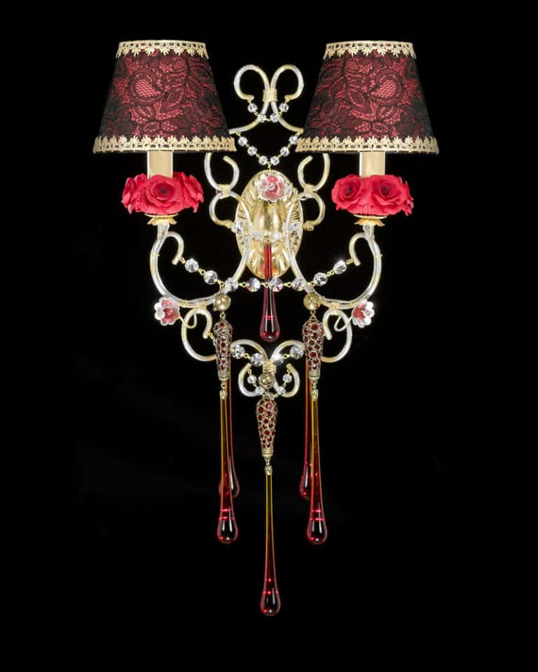 AP1922-wall-lamp-applique-sconce-luxury-designs-candle-ceiling-murano-glass-flowers-porcelain