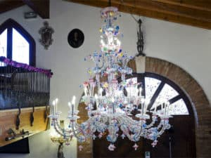 large-murano-glass-chandelier-Milan-Lounge-bar-Italy