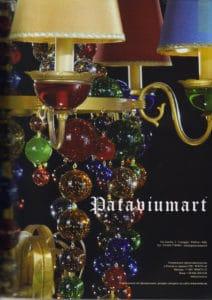 SALON UKRAINA april08-Pataviumart press-release-publications-pataviumart-luxury-lighting-modern-crystal-chandelier