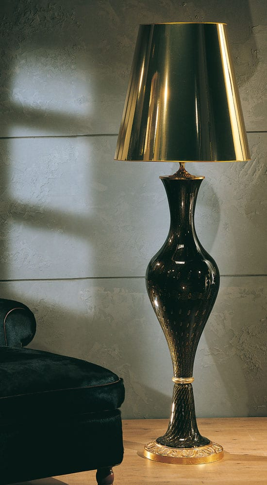 Classic Luxury Floor Lamps Made In Murano Glass And Artisan