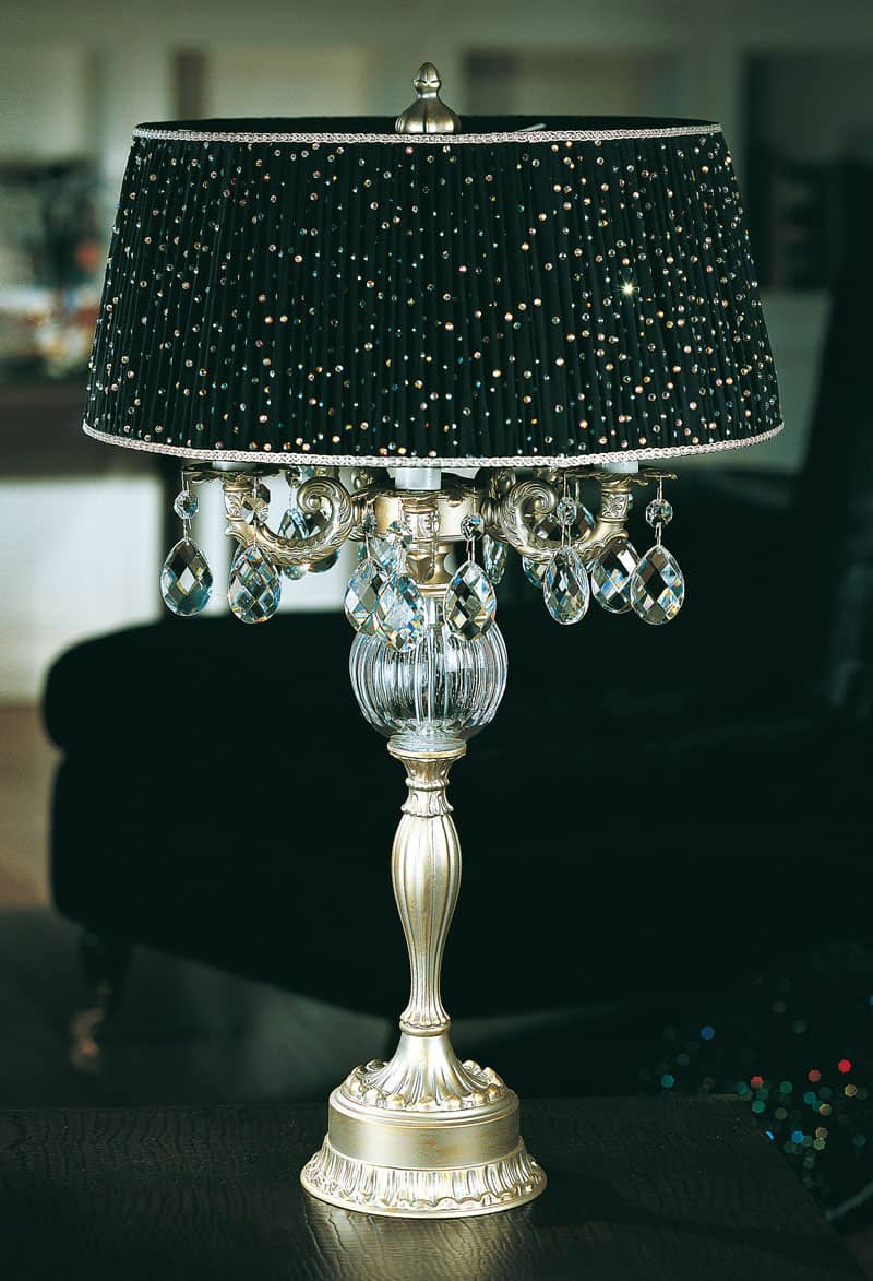 Designer Table Lamps Modern And Classic Bedside Table Lamps Made In Murano Crystal Artistic And Artisan Luxury
