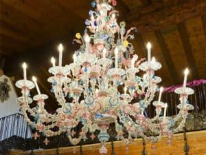 large-crystal-chandelier-Milan-lounge-bar-Italy